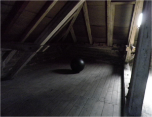 cleaned attic